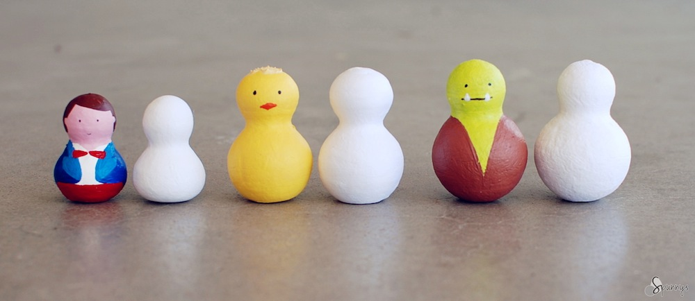 blank figurines to paint