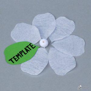 paper flower template