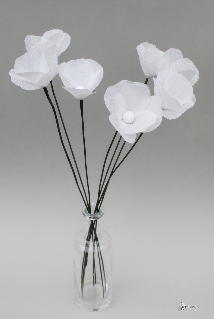 crepe streamer paper flower tutorial