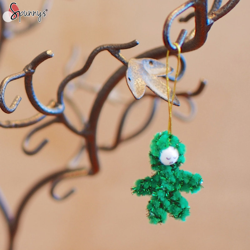Christmas pipe cleaner ornaments instructions