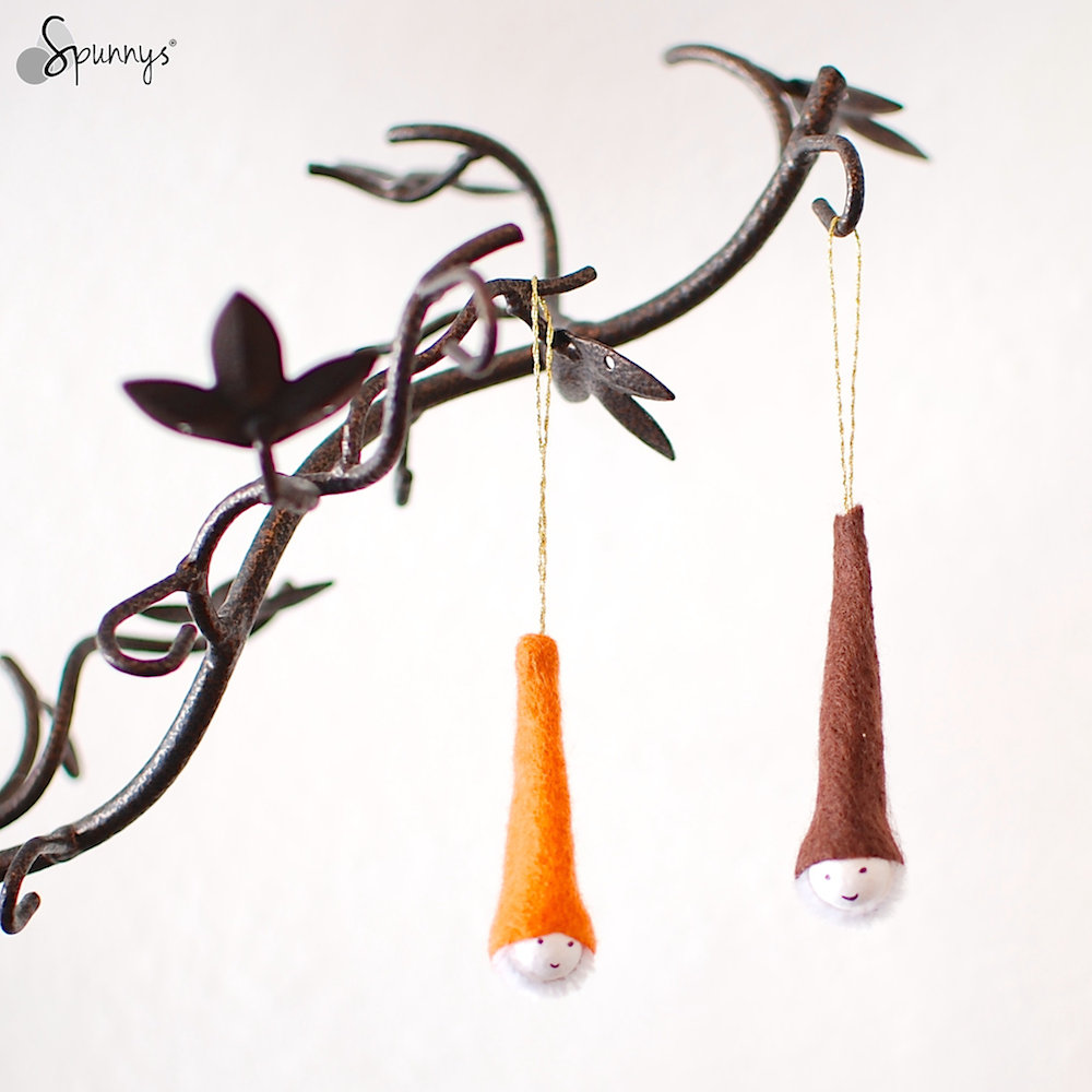 Felt gnome ornaments craft ideas