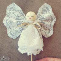 Vintage angel ornaments tutorial
