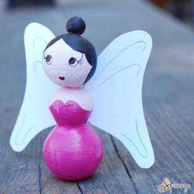 angel figurine craft project idea