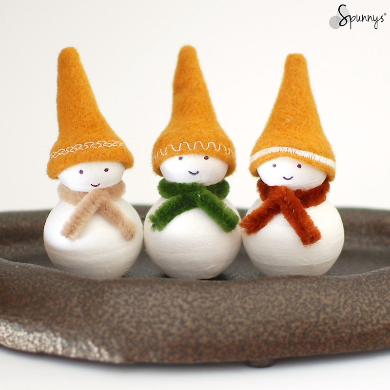 DIY Christmas Decorations Homemade Snowman Ornaments Bird Ornament Simple