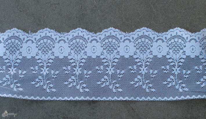 vintage angel ornaments lace