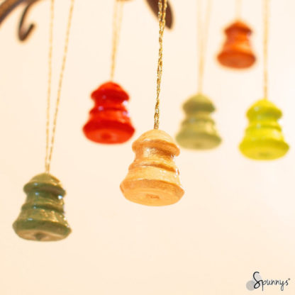 Christmas bell ornaments DIY craft project