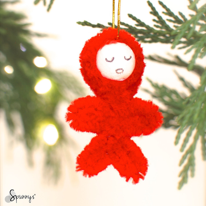 Christmas decoration pipe cleaner ornaments DIY project ideas