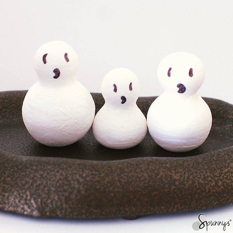 Halloween ghost ornaments ideas DIY
