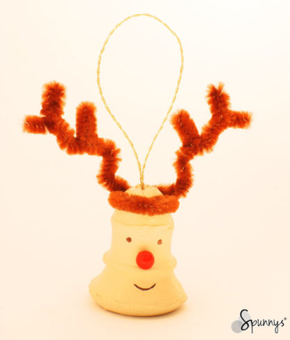 reindeer ornament DIY craft idea