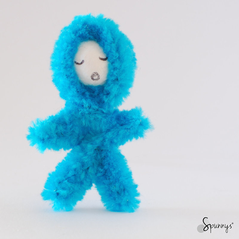 pipe cleaner blue eskimo crafts
