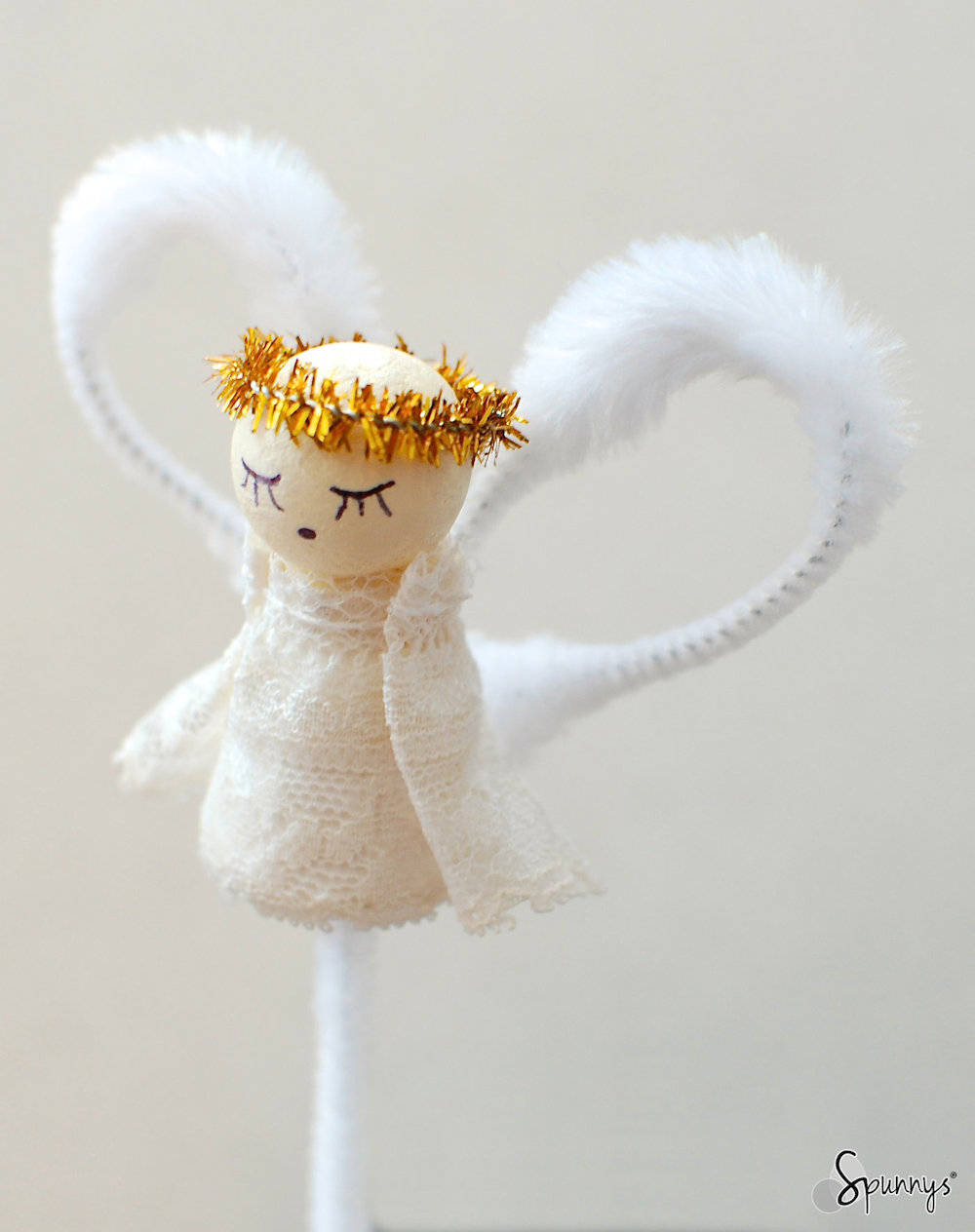 vintage angel ornaments two simple diy tutorials spunnys