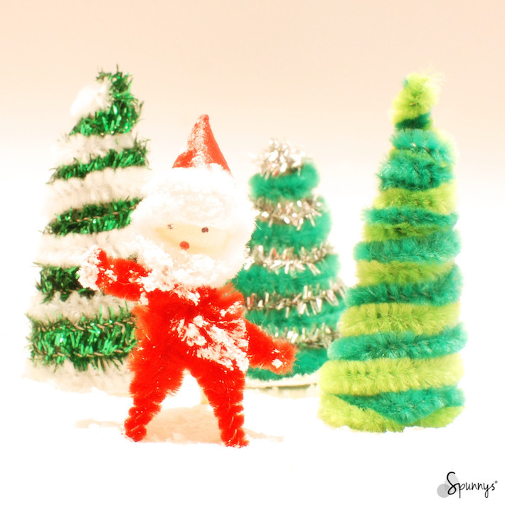 Christmas pipe cleaner ornaments - DIY project ideas • SPUNNYS