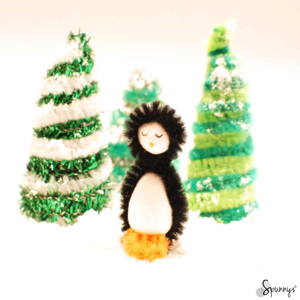Pipe cleaner penguin
