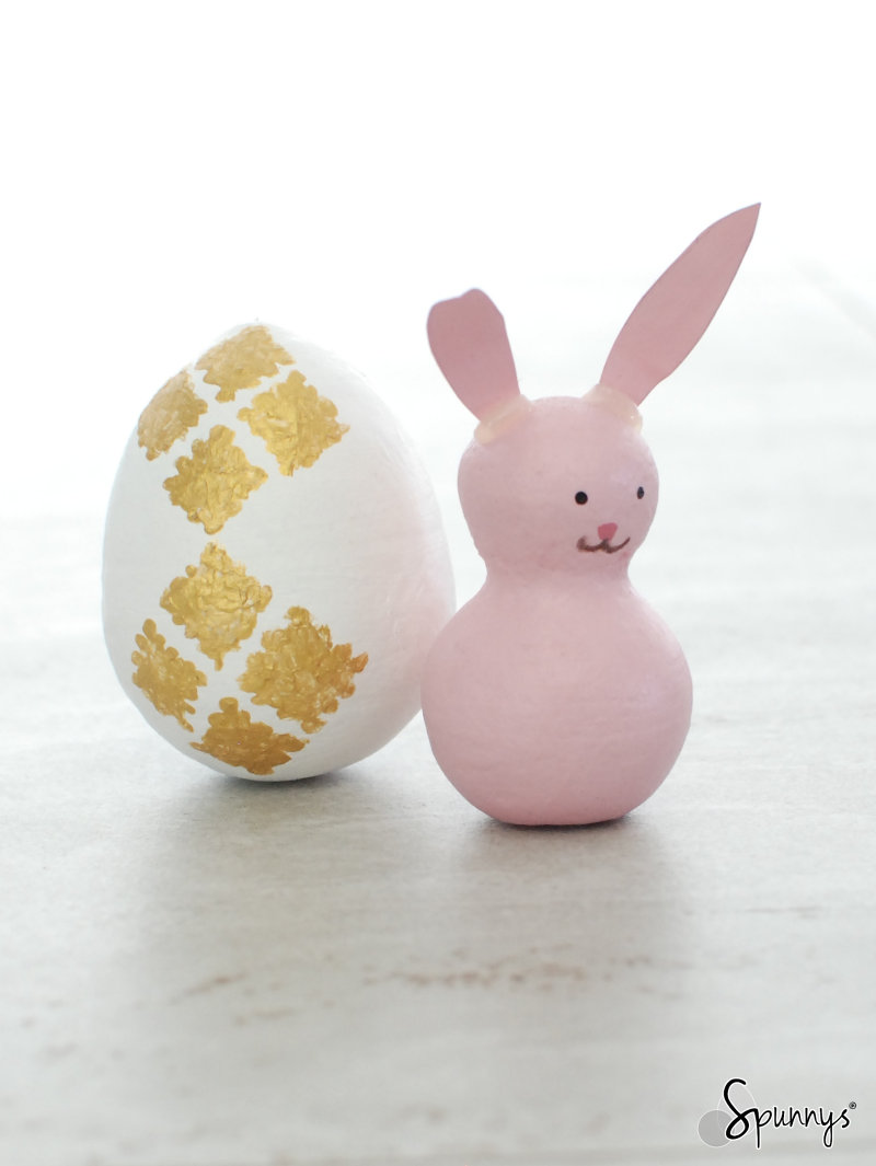 bunny peg doll Easter idea