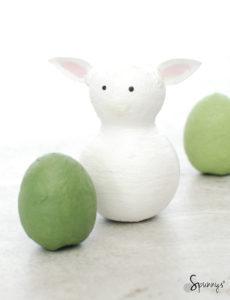 farm animal peg doll lamb idea