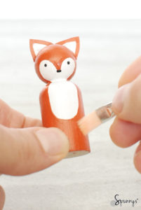 peg doll fox