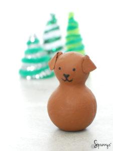 puppy dog peg doll idea