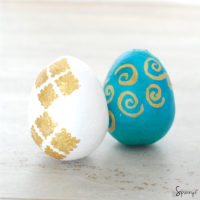 Easter egg ornaments pattern ideas