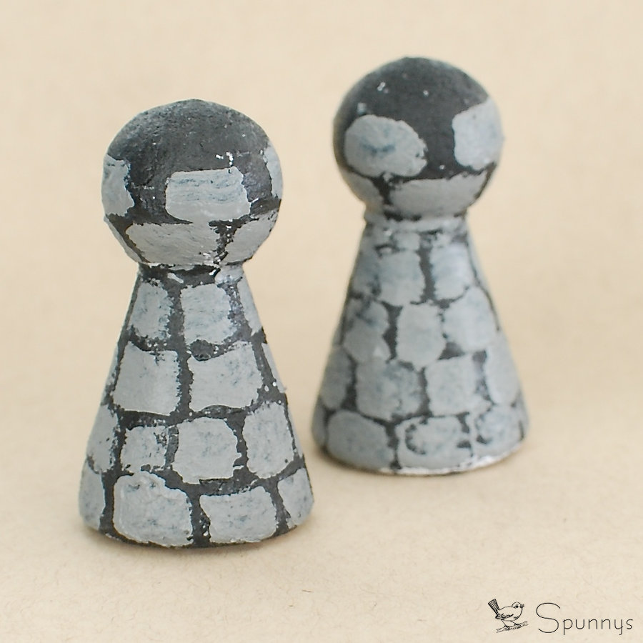 Chess pieces DIY tutorial