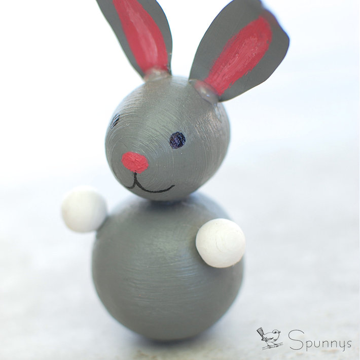 Easter bunny 3D figure tutorial