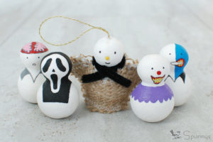Spooky Halloween figurines DIY tutorial