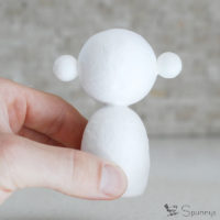 Kokeshi doll blank bodies DIY tutorial