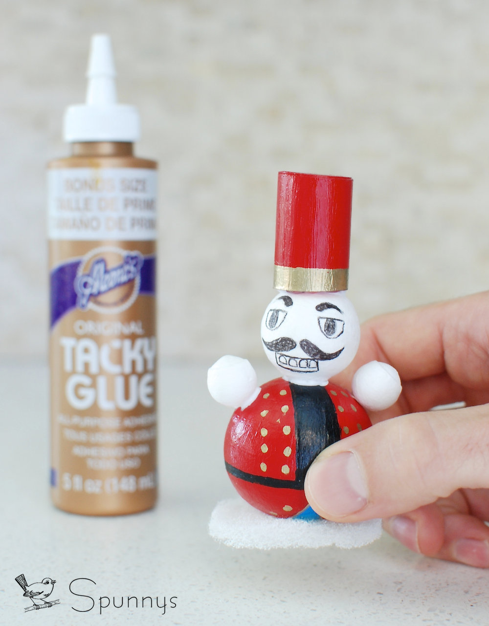 Nutcracker DIY christmas craft idea ornament