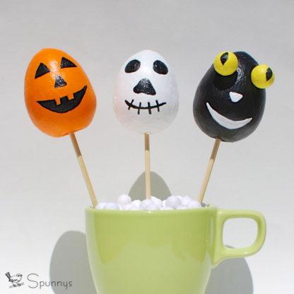 monster eggs Halloween DIY project idea