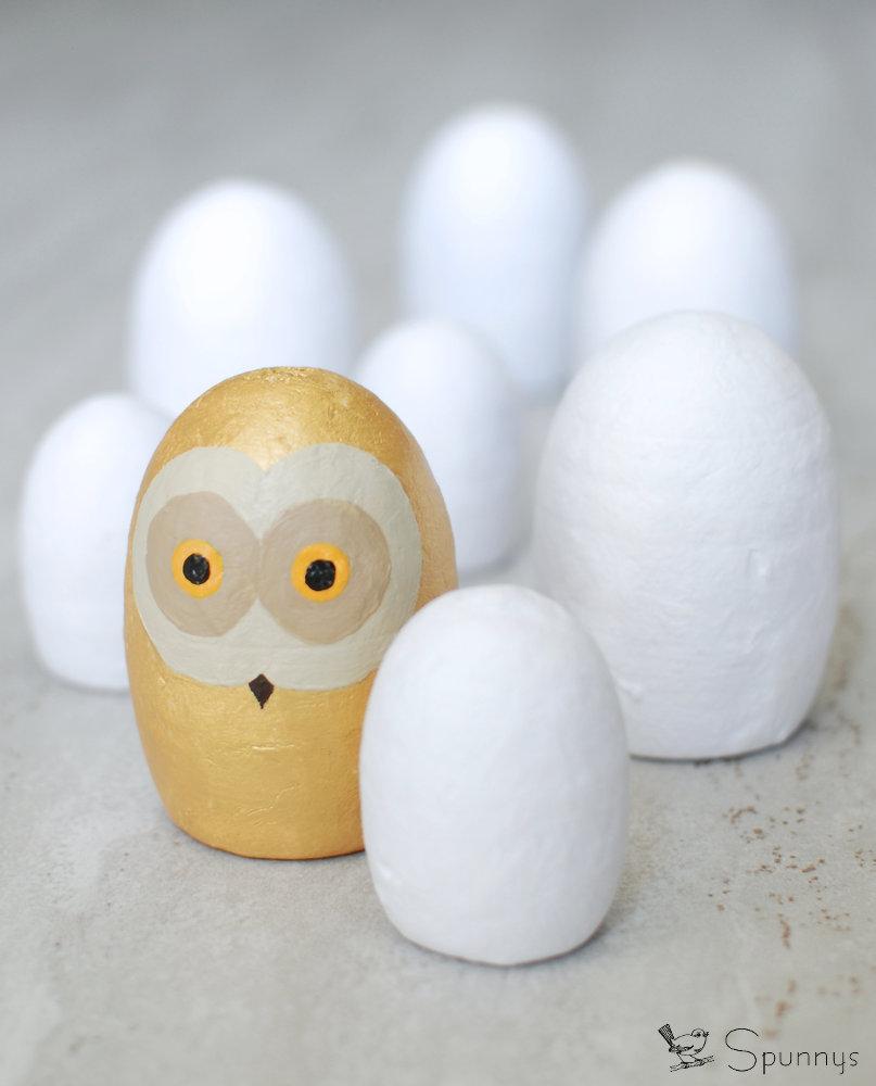 Owl peg doll DIY idea
