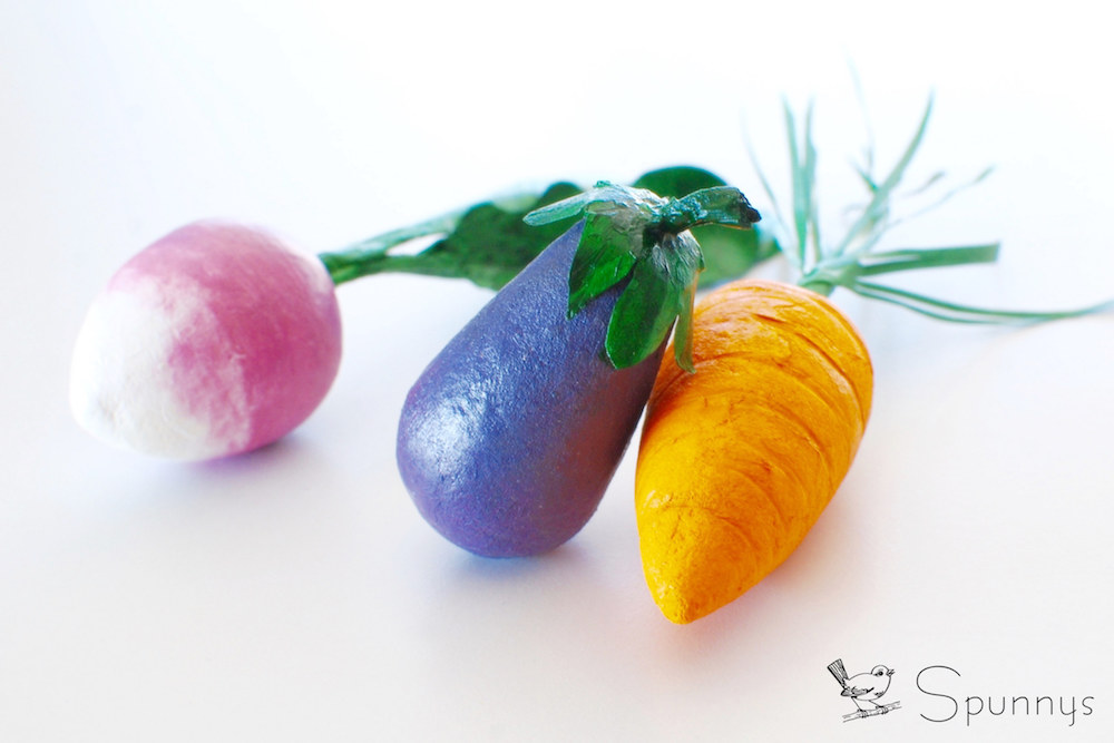 miniature vegetable ornaments DIY