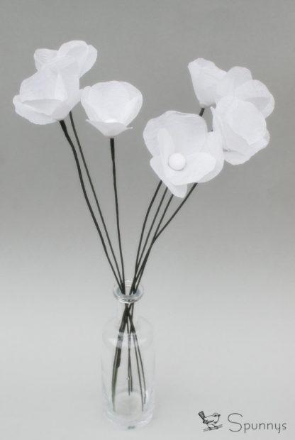 Fleurs en papier tutorial DIY