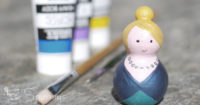 How to paint peg dolls DIY tutorial