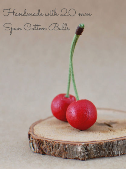 Cherry Ornaments DIY Crafts